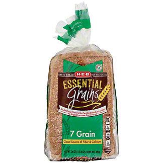 H-E-B Essential Grains 7 Grain Bread,24 OZ