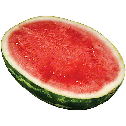 Fresh Watermelon Halves Seedless, sold by the pound