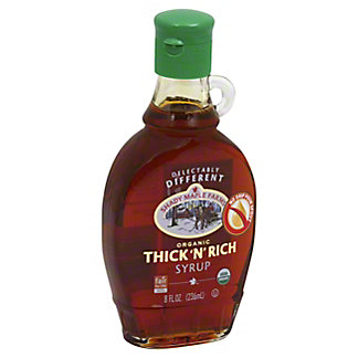 Shady Maple Farms Certified Organic Thick 'N' Rich Syrup,8 oz