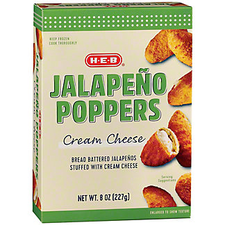 H-E-B Classic Selections Cream Cheese Jalapenos,8 OZ