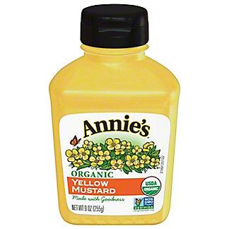 Annie's Naturals Organic Yellow Mustard,9 oz
