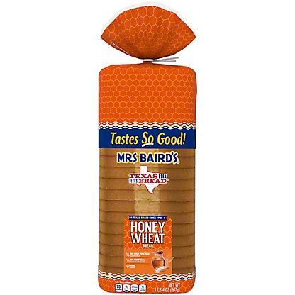 Mrs Baird's Honey Wheat Bread,20 OZ