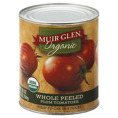 Muir Glen Organic Whole Peeled Plum Tomatoes, 28.00 oz