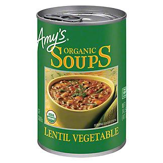 Amy's Organic Lentil Vegetable Soup,14.5 OZ