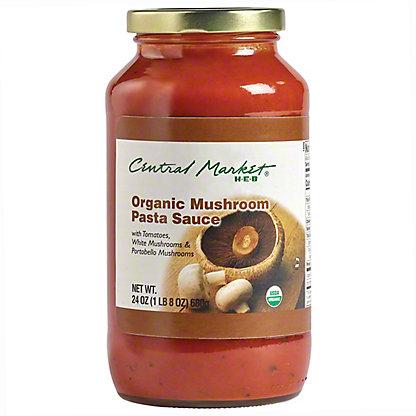 Central Market Organics Mushroom Pasta Sauce,24 OZ