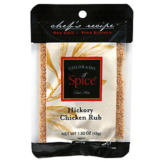 Colorado Spice Chef's Recipe Colorado Spice Hickory Jerky Rub Bag, 1.50 oz