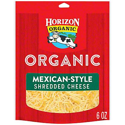 Horizon Organic Organic Finely Shredded Mexican Cheese, 6 oz