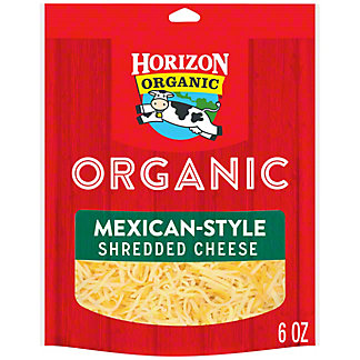 Horizon Organic Organic Finely Shredded Mexican Cheese, 6 oz