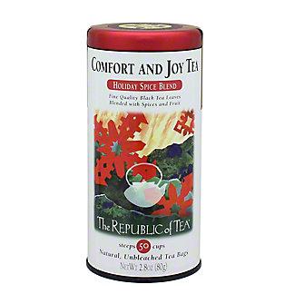 The Republic of Tea Comfort & Joy Holiday Tea Bags,50 CT