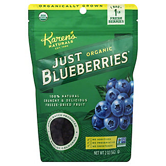 Just Tomatoes, Etc.! Organic Just Blueberries,2 OZ