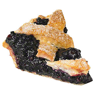 Central Market Wild Maine Blueberry Pie Slice, 6 oz