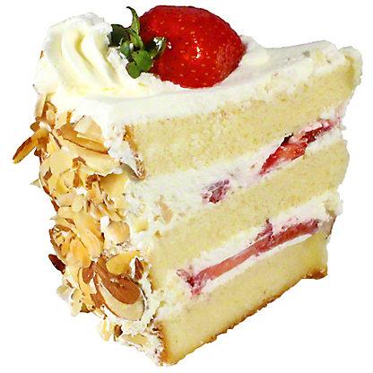 Central Market Strawberry Shortcake Slice,EACH