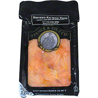Spence and Co., LTD. Smoked Salmon Trim, 8 oz