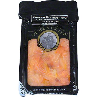 Spence and Co., LTD. Smoked Salmon Trim, 8 oz