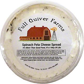 Full Quiver Farms Spinach Feta Cheese Spread,LB