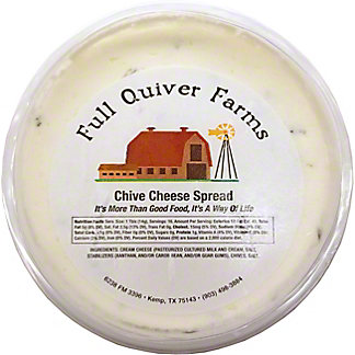 Full Quiver Farms Chive Cheese Spread,LB