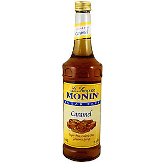 Monin Sugar Free Caramel Syrup, 750 mL