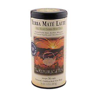 The Republic of Tea Mate Latte Tea Bag Tin, 36 CN