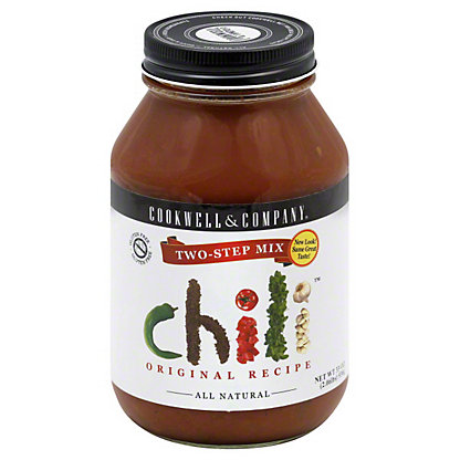 Cookwell & Company Two Step Chili Mix, 33 oz