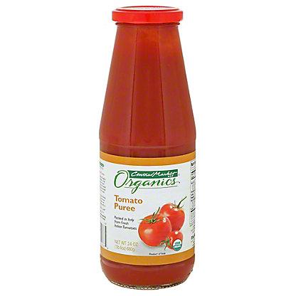 Central Market Organics Tomato Puree, 24 oz