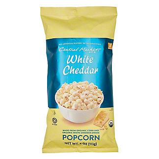 Central Market Organics White Cheddar Popcorn, 4 oz