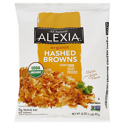 Alexia Organic Hashed Browns,16 oz