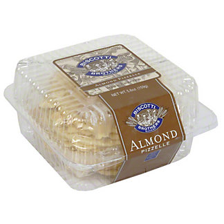 Biscotti Brothers Bakery Almond Pizzelle,5.6OZ