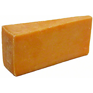 Henning's Wisconsin Cheese Aged Cheddar One Year, lb