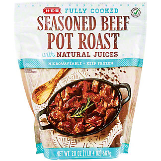H-E-B Fully Cooked Single-Serve Beef Pot Roasts, 20 oz