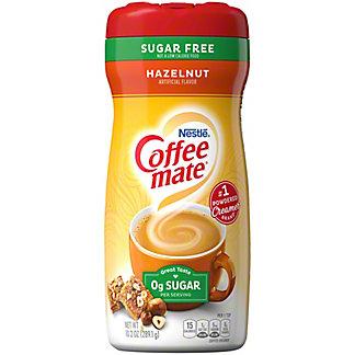 Nestle Coffee-Mate Hazelnut Sugar Free Coffee Creamer, 10.2 oz
