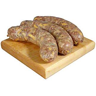 Central Market Jalapeno Cheddar Pork Sausage