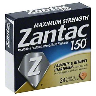 Zantac Maximum Strength Zantac 150, 24 ct