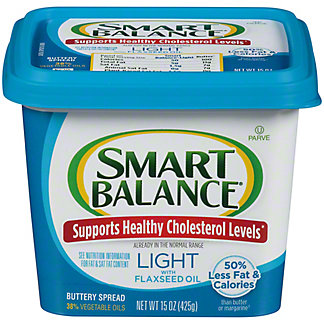 Smart Balance Smart Balance Light Buttery Spread With Flaxseed Oil,15 oz