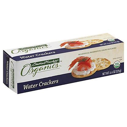 Central Market Organics Water Crackers, 4.40 oz