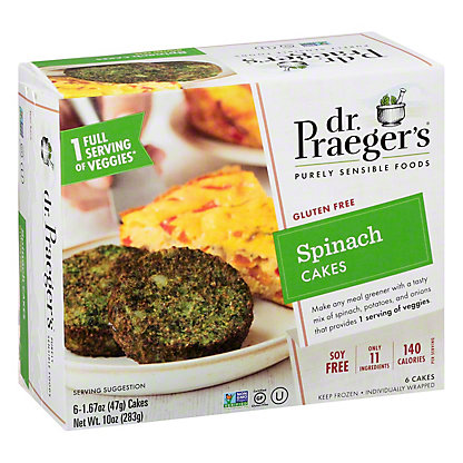 Dr. Praeger's Spinach Pancakes,6 CT