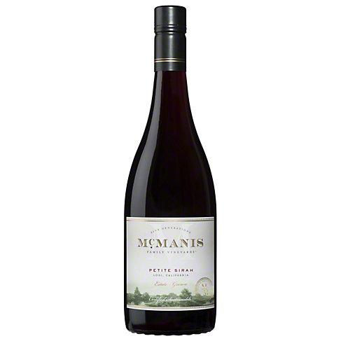 McManis Family Vineyards Petite Sirah, 750 ML