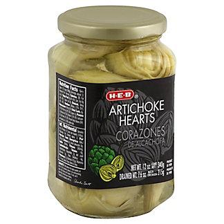 H-E-B Artichoke Hearts,12 OZ