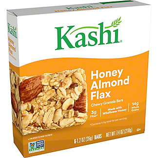 Kashi Chewy Honey Almond Flax Granola Bars,6 CT