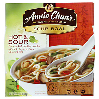 Annie Chun's Hot And Sour Medium Soup Bowl, 5.7 OZ