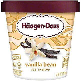 Haagen-Dazs Vanilla Bean Ice Cream, 14 oz