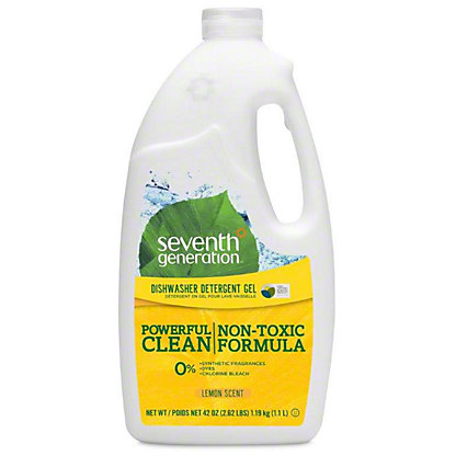 Seventh Generation Lemon Scent Automatic Dishwashing Gel,42 OZ