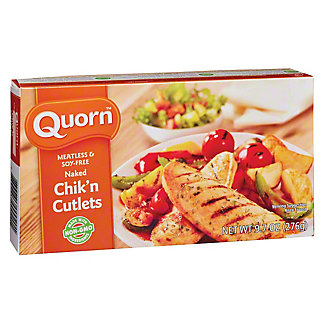 Quorn Meatless and Soy-Free Naked Chik'n Cutlets, 9.7 oz