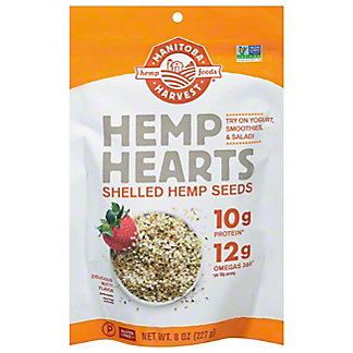 Manitoba Harvest Hemp Seed Nut Shelled Hemp Seed,8 OZ