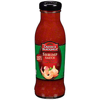 Crosse & Blackwell Zesty Shrimp Sauce, 12 oz