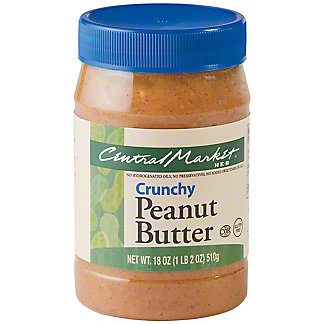 Central Market Crunchy Peanut Butter, 18 oz
