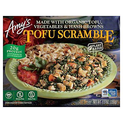 Amy's Tofu Scramble With Hash Browns and Veggies,9 oz