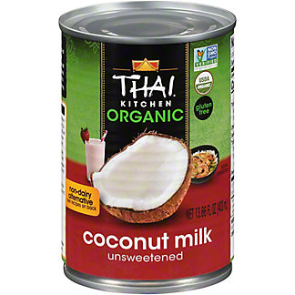 Thai Kitchen Organic Unsweetened Coconut Milk, 13.66 oz