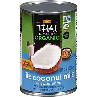 Thai Kitchen Organic Lite Coconut Milk, 13.66 oz