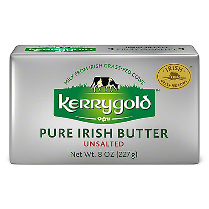 Kerrygold Pure Irish Unsalted Butter, 8 oz