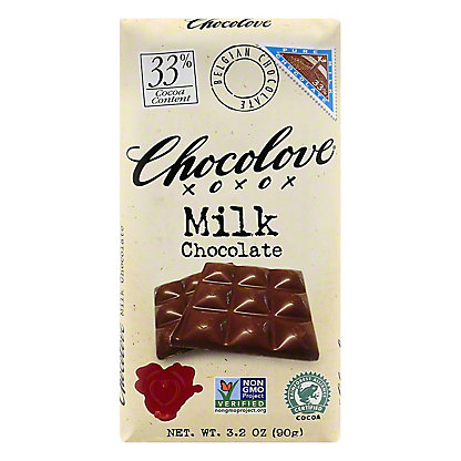 Chocolove 33% Milk Chocolate,3.2 OZ